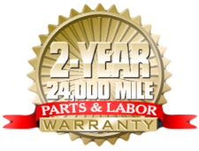 German Excellence Parts and Labor Warranty
