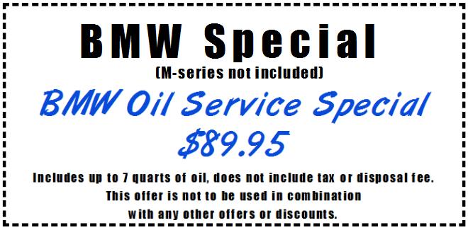 BMW Service Special